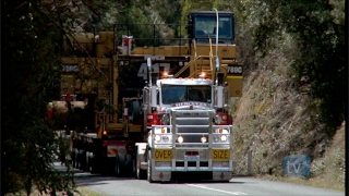 Download Extreme Truckers tackle Massive 1100 Horsepower V8 Mack push pull CAT 789C Dump Truck Video