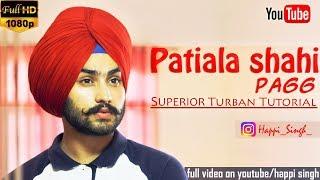 Download How to tie a Turban: Patiala Shahi Pagg (Wattan Wali)   Dress Easy Punjabi Turban Style - Tutorial Video