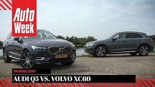 Download Audi Q5 vs. Volvo XC60 - AutoWeek dubbeltest - English subtitles Video