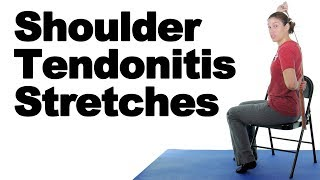 Download Shoulder Tendonitis Stretches for Pain Relief - Ask Doctor Jo Video