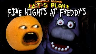 Download Annoying Orange Let's Play FIVE NIGHTS AT FREDDY'S Video