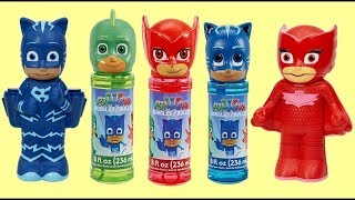 Download PJ MASKS Bubble Set with Owlette, Catboy & Gekko: Bath Time Fun & Surprises Video