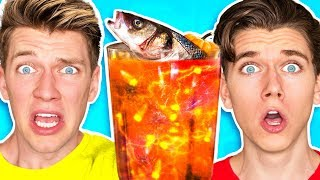Download The Smoothie Challenge! *GOOD vs. GROSS* Learn DIY Edible Real Gummy Food Sour Candy Drink How To Video