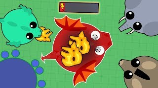 Download DESTROYING/TROLLING ALL ANIMALS IN MOPE.IO! BLACK DRAGON IN 30 MINUTES! (Mope.io Best Moments) Video