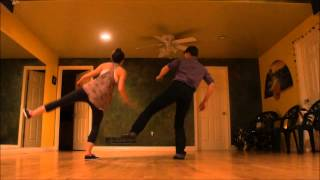Download Airplane Charleston - Basic Charleston Moves with Kenny & Delilah Video