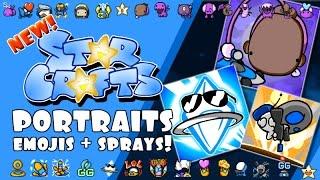 Download StarCrafts Portraits & Emojis! NEW in SC2 Video