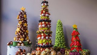 Download How to Make Appetizer Trees By Rach's Culinary Team Video