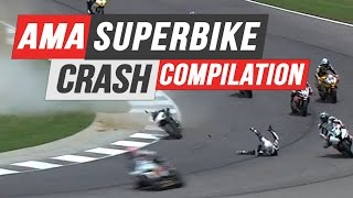 Download AMA Superbike Crash Compilation Video