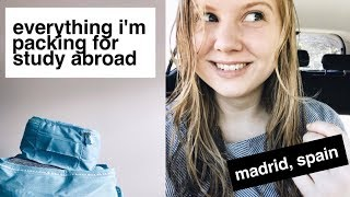 Download 6 MONTHS IN ONE SUITCASE | STUDY ABROAD MADRID Video