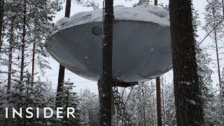 Download Tree House Looks Like A UFO Video