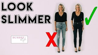 Download How To INSTANTLY Look Slimmer! 10 Style Tricks Video