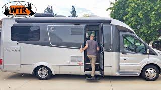 Download 25' Small Class C RV Walk-Through   Leisure Travel Vans Wonder RTB Video