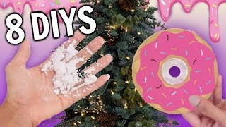 Download 8 Christmas DIY Ideas you've NEVER Thought of! Video