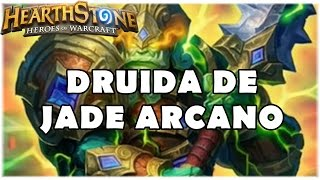 Download HEARTHSTONE - DRUIDA DE JADE ARCANO! (PADRÃO ARCANE JADE DRUID) Video