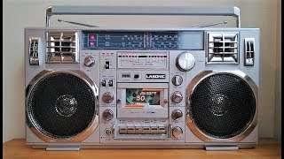Download Reli's Ghettoblasters: Lasonic TRC-920 vintage boombox with a TEAC ″Mirror Bowl″ reel tape Video