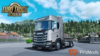 Download ✅ [ETS2 1.31] ProMods,V8 Sounds and some nice Graphics Video