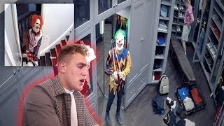 Download 2 KILLER CLOWNS BROKE INTO THE TEAM 10 MANSION! **SECURITY FOOTAGE** Video