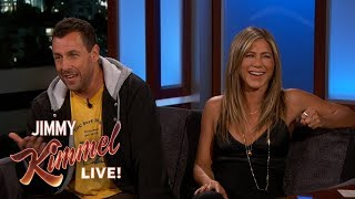 Download Jennifer Aniston & Adam Sandler on Shooting Movie in Italy Together Video