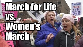 Download March for Life vs. Women's March - Amazing Differences Video