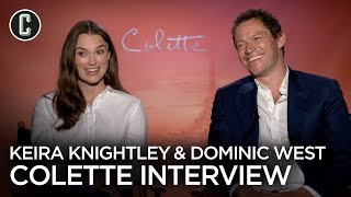 """Download Keira Knightley & Dominic West Talk about the """"Cool Hero"""" at the Center of Colette Video"""