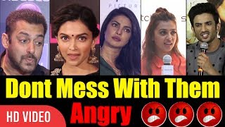 Download Don't Mess With These People | Bollywood Angry Reaction On Media | #Angry #Bollywood Video