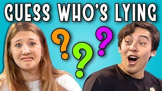 Download CAN YOU GUESS WHO'S LYING?   Poker Face (REACT) Video
