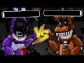 CLUTCHEST BONNIE VS FREDDY BATTLE! WHO WILL WIN? | Five Fights at Freddy's Gameplay (FNaF)