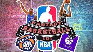 Download NBA FANTASY BASKETBALL 101 | How To Play Fantasy Basketball 2017 Video