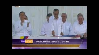 Download Historic Colombia Peace Deal Signed Video