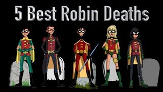 Download 5 Best Robin Deaths (And 5 Best Faked Deaths As Well) Video