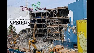 Download Disney Quest Destruction at Disney Springs Halloween and Construction everywhere 10/23/17 Video