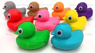 Download Learn Colors with Play Doh Ducks and Clay Foam Surprise Toys Video