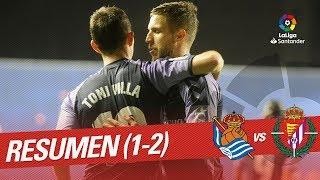 Download Resumen de Real Sociedad vs Real Valladolid (1-2) Video