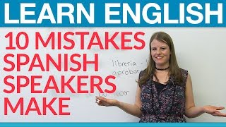 Download Aprende inglés: 10 common Spanish speaker mistakes Video