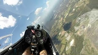 Download Learn to fly glider sailplane High speed What is final glide Roy Dawson video Video