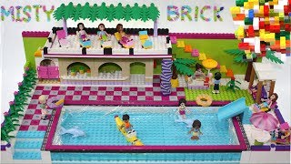 Download Lego Friends Large Swimming Pool 2 by Misty Brick. Video