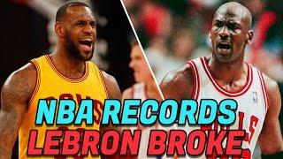 Download 7 NBA Records LeBron James Has BROKEN! Best LeBron NBA Records! Video