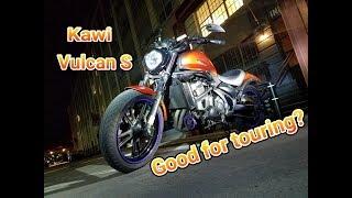 Download Kawasaki Vulcan S....Good enough for touring??? Video