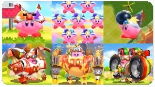 Download Kirby Planet Robobot (3DS) - All Copy Abilities Gameplay (Showcase) Video