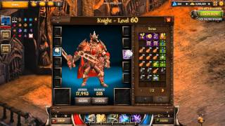 Download KingsRoad - Knight - Full legendary set (level 60) Video