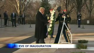 Download Video: Donald Trump sweeps into Washington ahead of presidential inauguration Video