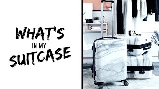 Download How I Pack My Suitcase // What's in my Suitcase 2016 Video
