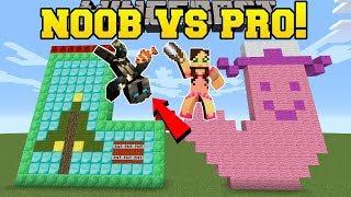Download Minecraft: NOOB VS PRO!!! - CHRISTMAS BUILD BATTLE - Mini-Game Video