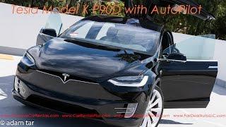 Download Tesla Model X P90D AutoPilot Feature in Action! Video