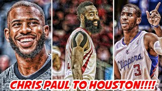 Download CHRIS PAUL TRADED TO ROCKETS!! WHY AVERY BRADLEY GOT SNUBBED?!   NBA NEWS Video