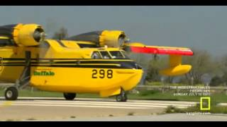 Download CL215 crash landing Video