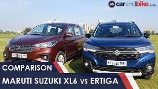 Download Maruti Suzuki XL6 Vs Ertiga Comparison Review Video