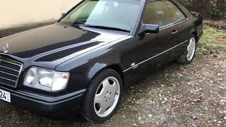 Download ㉦ Mercedes 124 E320 Coupé. First cold start since 3 years. W124. 🚘 Video
