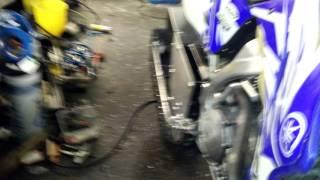 Download Wr450f 2007 snowbike Teddesled Video