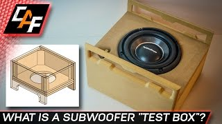 Download Build a Subwoofer Test Box - BETTER BASS - CarAudioFabrication Video